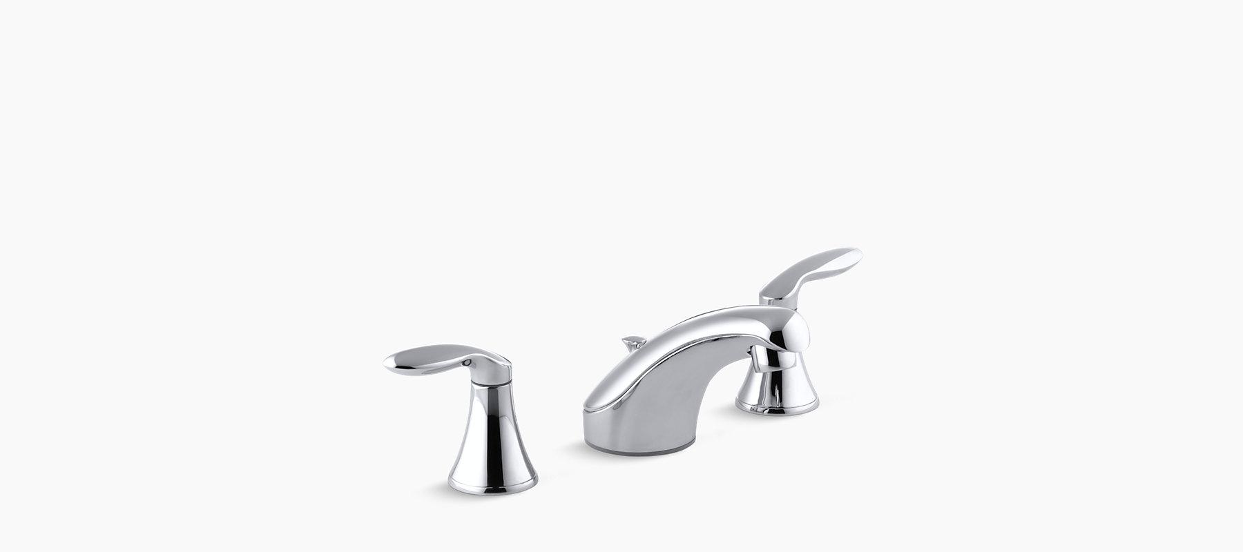 Coralais Widespread Bathroom Sink Faucet K 15261 4 Kohler