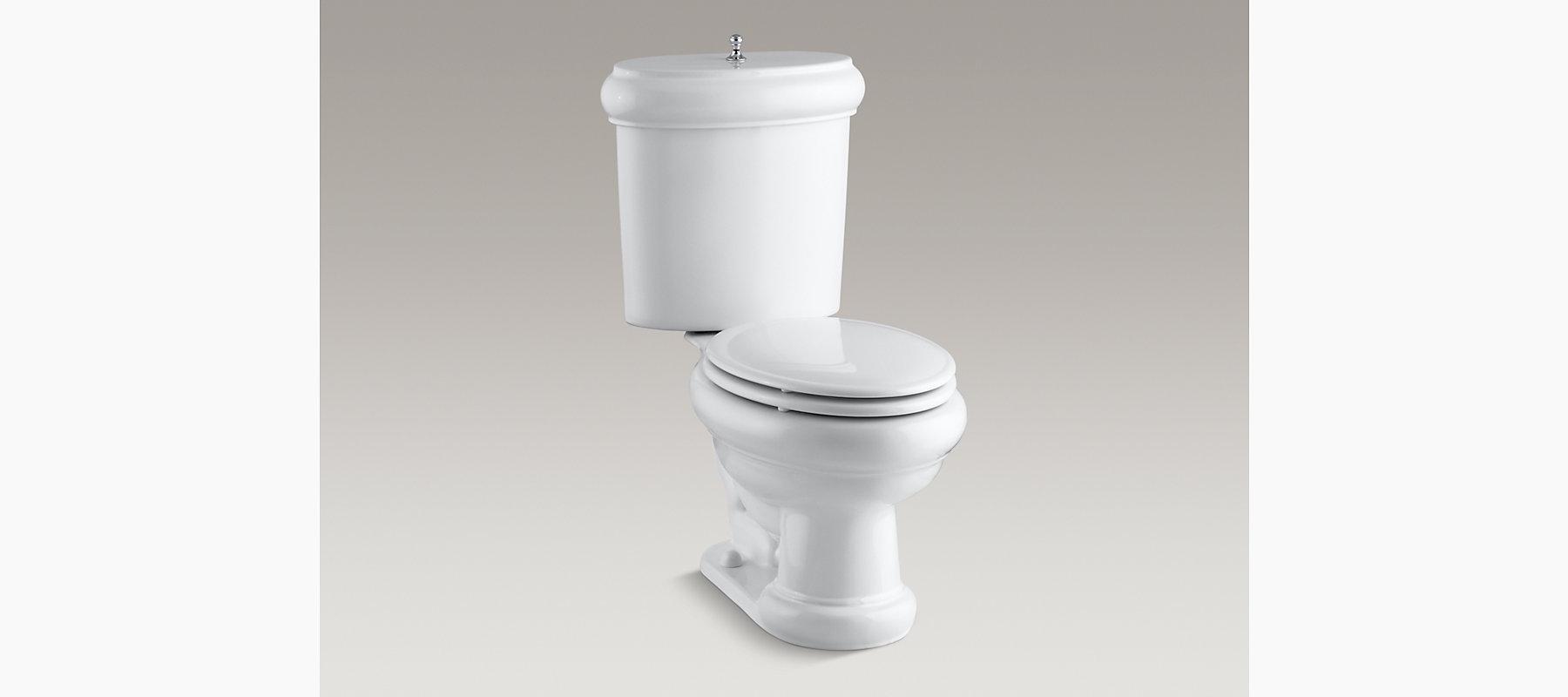 Kohler K 3555 Revival Two Piece Elongated 1 6 Gpf Toilet
