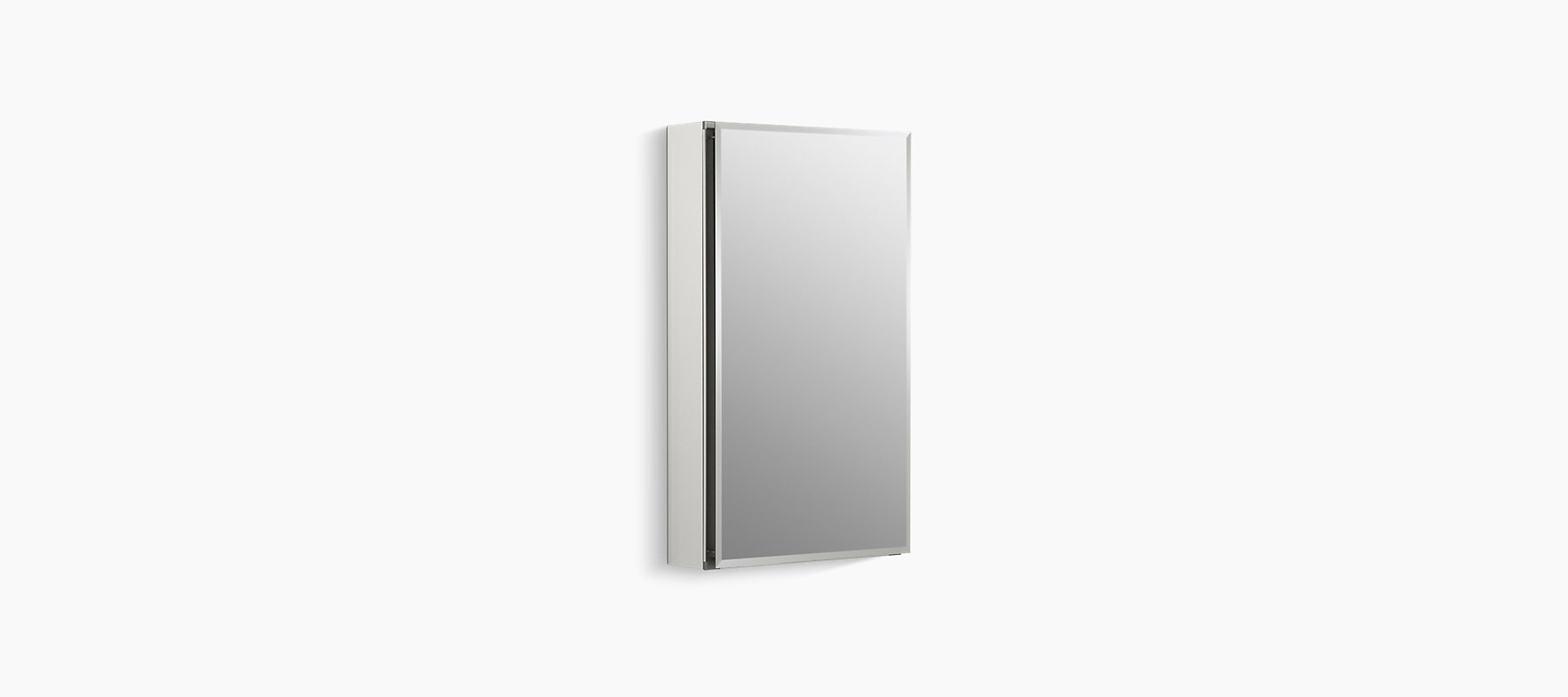 15-Inch Medicine Cabinet With Mirrored Door