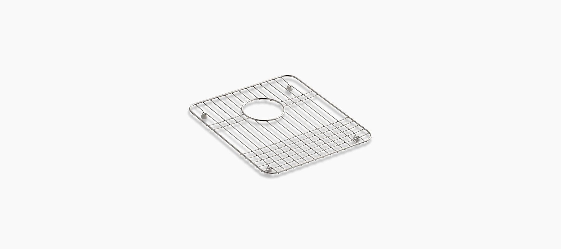 K 3190 Sink Rack For 14 Inch By 15 3 4 Inch Basins Kohler