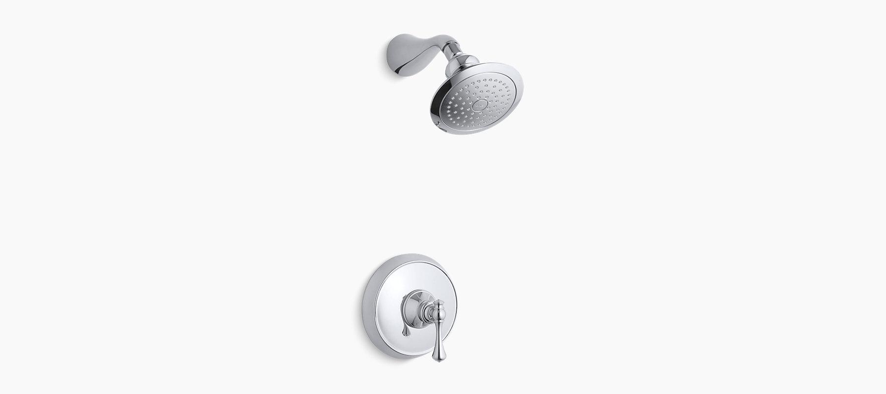 Kohler Revival Kitchen Faucet Revival Rite Temp Pressure Balancing Shower Faucet Trim With