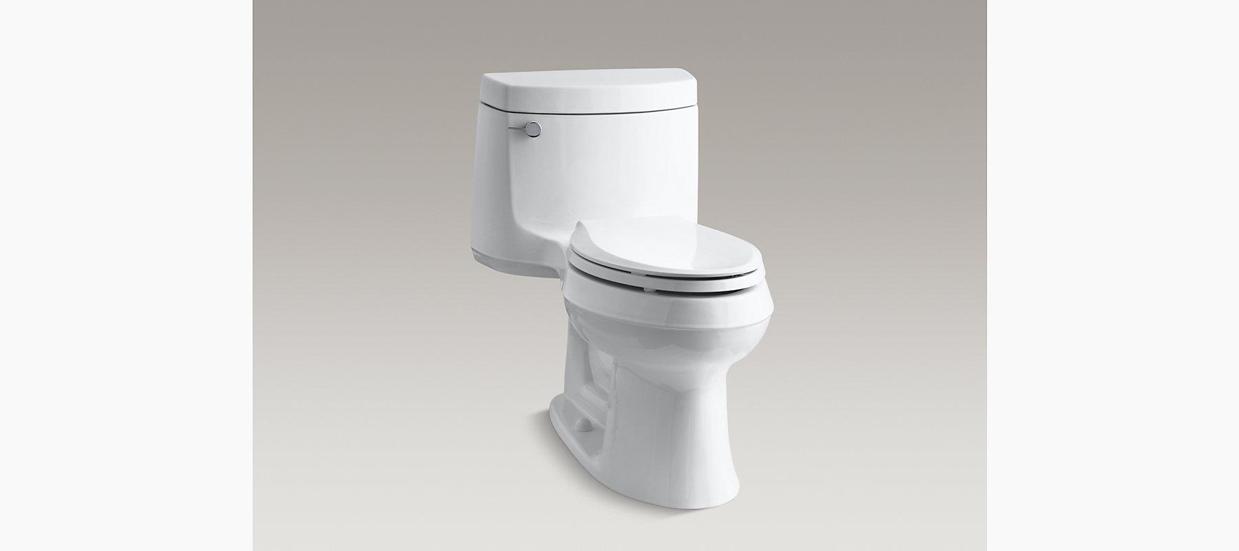 Cimarron Comfort Height Elongated 1 6 Gpf Toilet K 3489