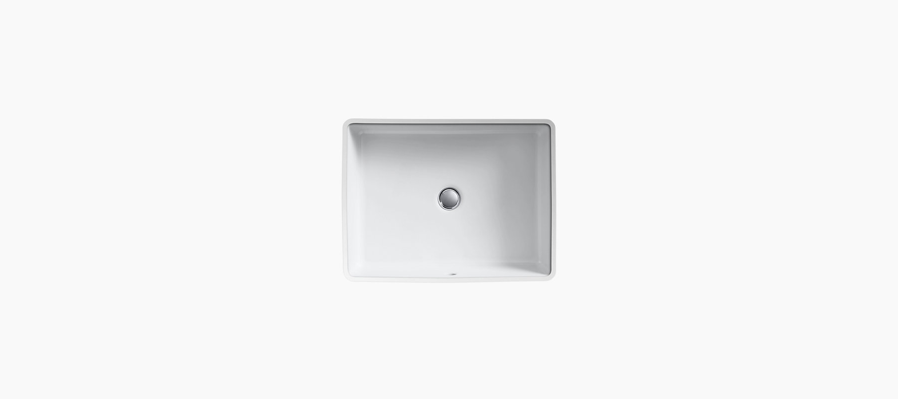 Sink Blank : Verticyl Undermount Rectangular Sink K-2882 KOHLER
