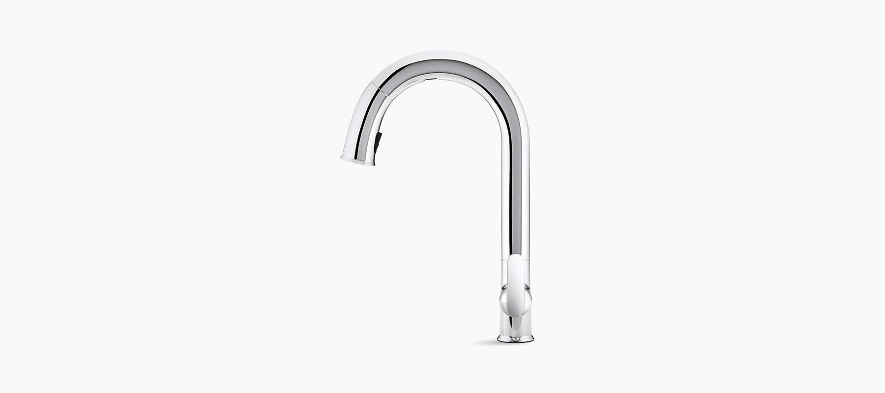 Sensate Touchless Pull Down Kitchen Sink Faucet K 72218 Kohler