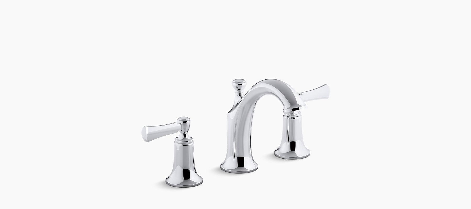 K R72781 4d Elliston Widespread Bathroom Sink Faucet Kohler