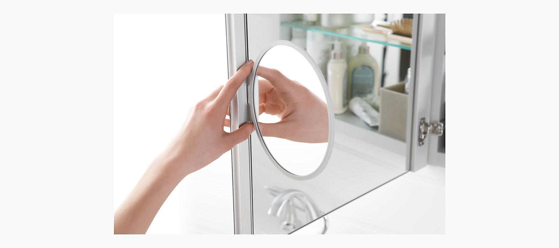 Verdera Medicine Cabinet With Magnifying Mirror K 99003 Kohler