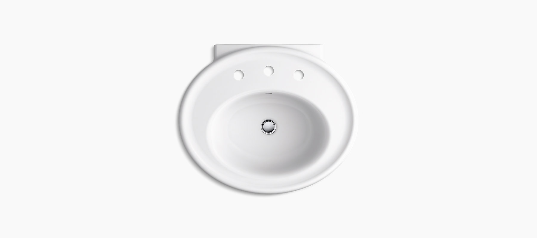 Willamette Pedestal Bathroom Sink K R6385 8 Kohler