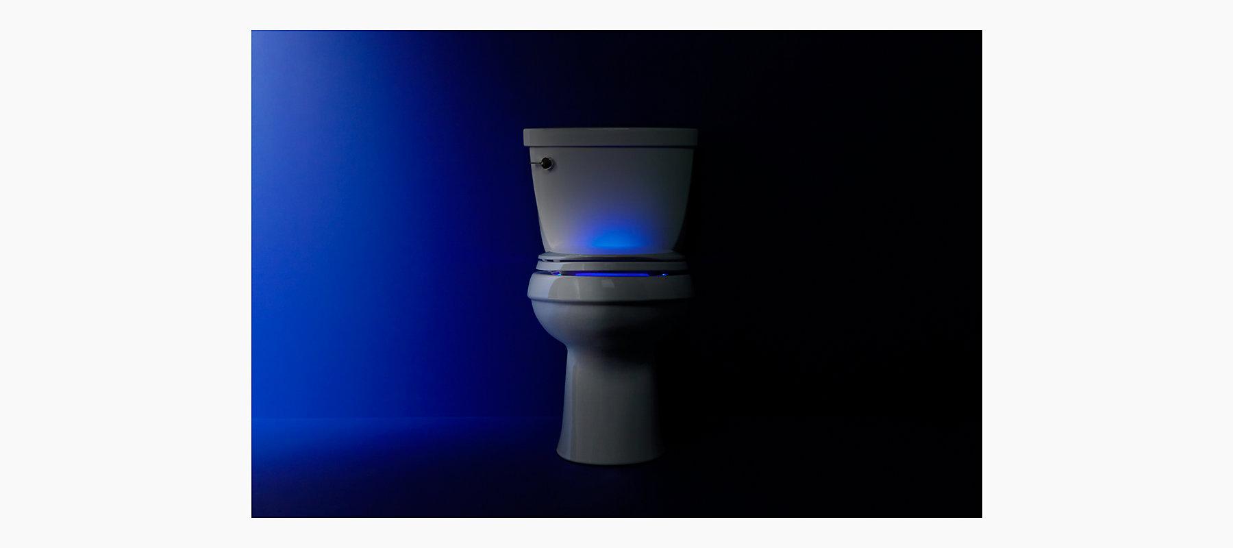 Cachet Nightlight Elongated Toilet Seat K 4888 Kohler