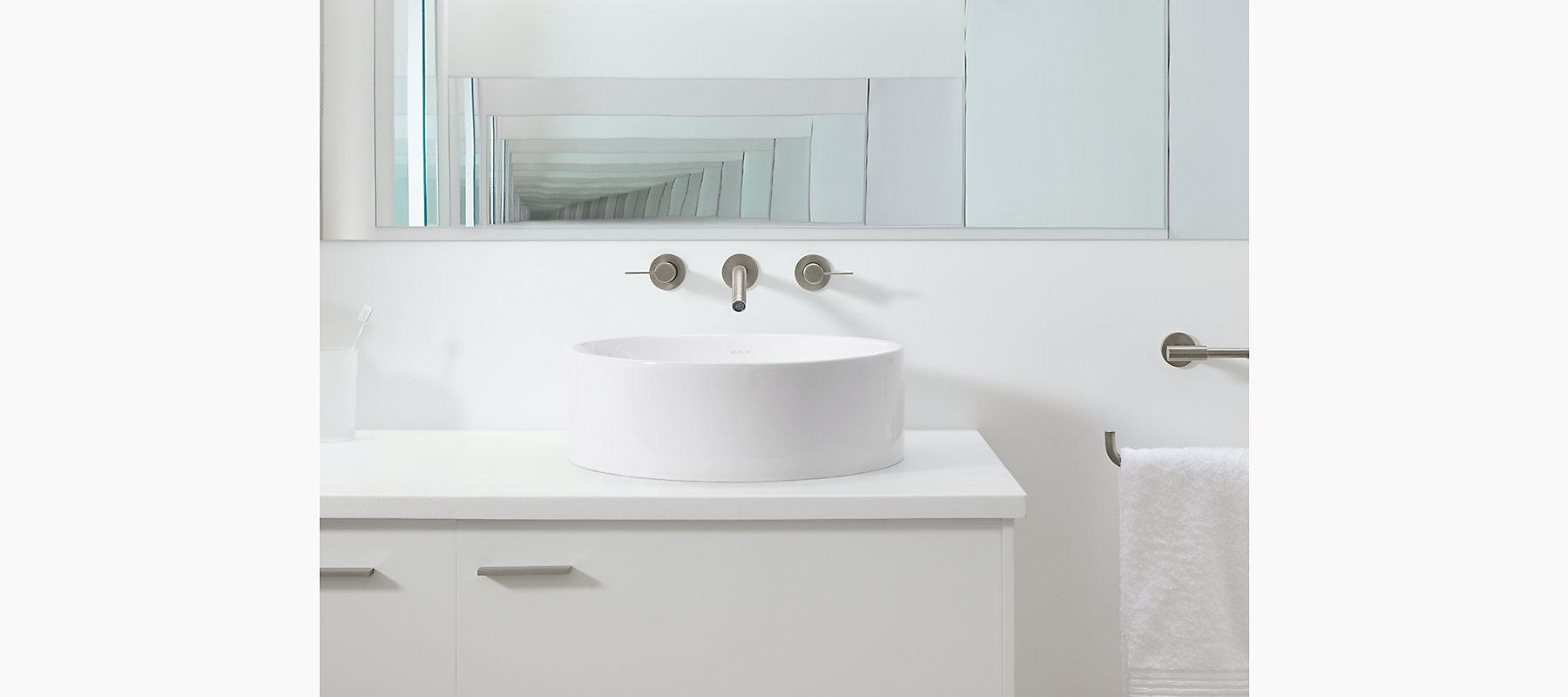 Kohler Vox Sink : 14800 Vox Round Vessel Sink KOHLER