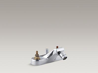 Kohler K 8240 K Taboret Centerset Bidet Base Faucet