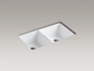 Kohler K 5873 5u Deerfield Under Mount Kitchen Sink