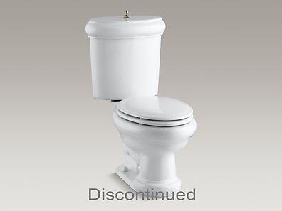 Kohler K 3555 Uf Revival Elongated 1 6 Gpf Toilet With