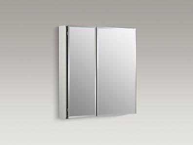 kohler | k-cb-clc2526fs | 25-inch cabinet with mirrored