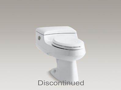 Kohler K 3393 San Raphael One Piece Elongated Toilet