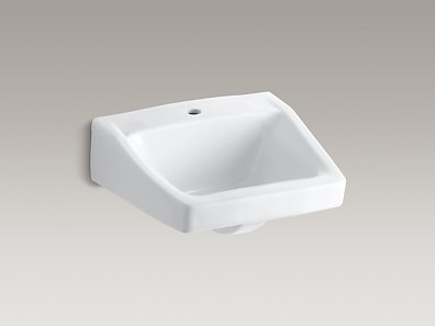 Kohler K 1722 Chesapeake Wall Mounted Or Concealed Carrier Arm Mounted Commercial Bathroom