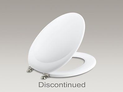 Revival 174 Elongated Toilet Seat With Vibrant 174 Brushed