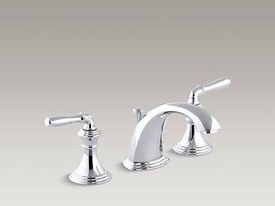 Kohler K 394 4 Devonshire Widespread Sink Faucet With Lever Handles