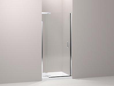 Kohler K 702011 L Purist Frameless Pivot Shower Door