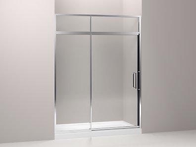 Kohler K 705825 L Lattis Pivot Shower Door With