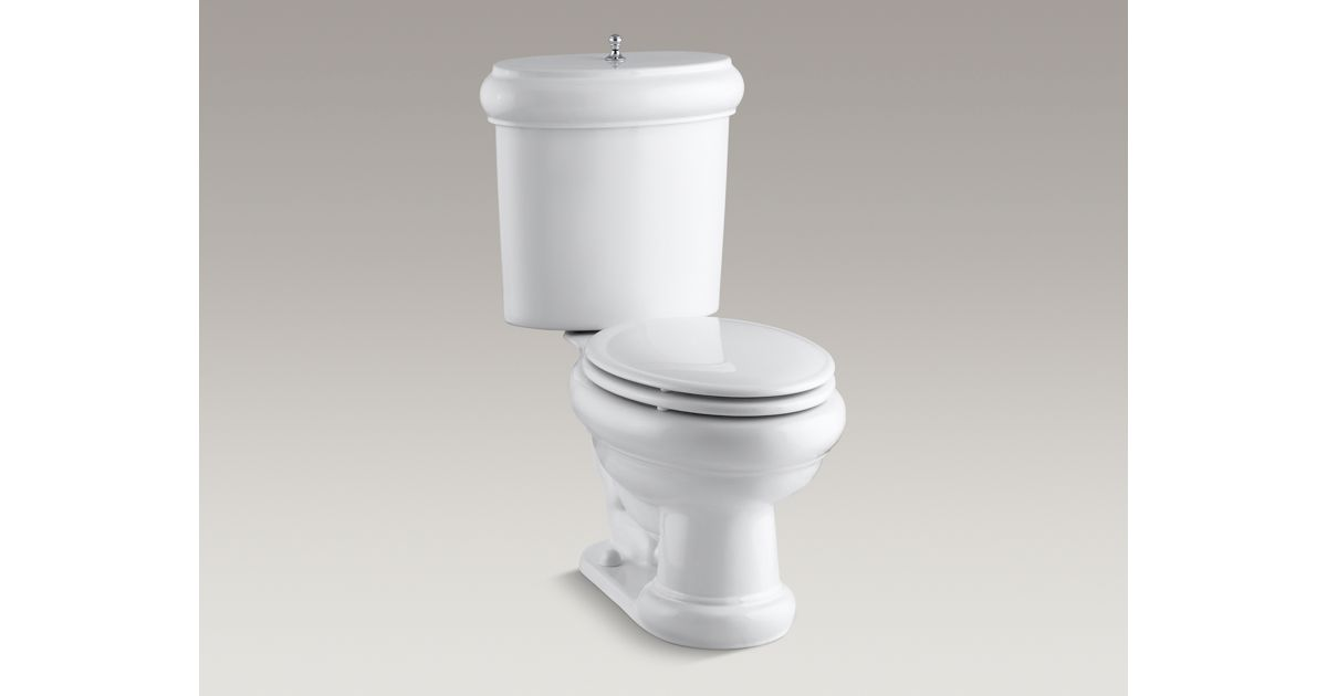 Kohler Revival Two Piece Elongated Gpf Toilet Seat
