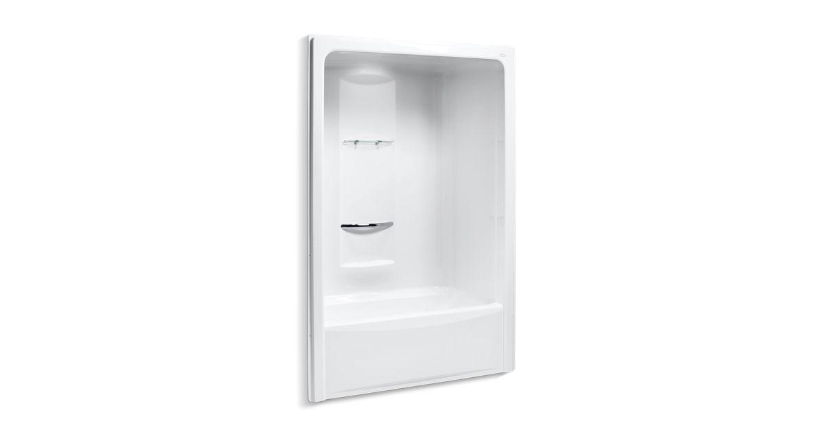 Sonata 5 Foot Bath And Shower Stall Left Drain K 1681