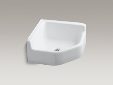 Clinical Service Sink : ... -mounted-corner-service-sink/productDetail/Service-Sinks/419064.htm
