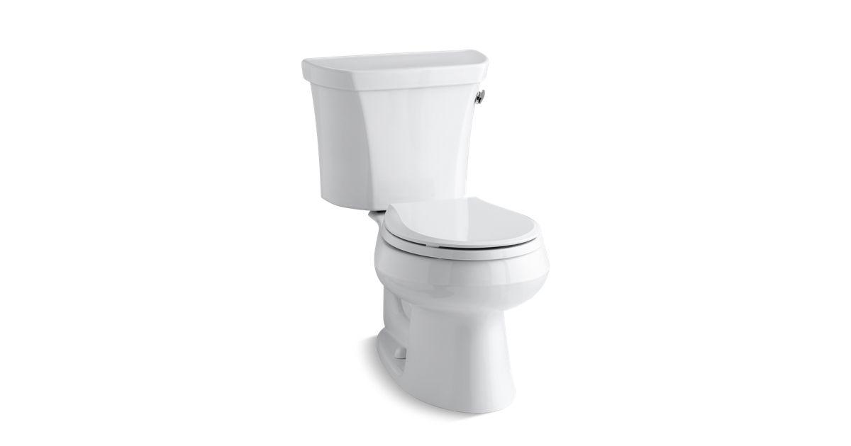 Kohler K 3997 Tr Wellworth Round Front 1 28 Gpf Toilet