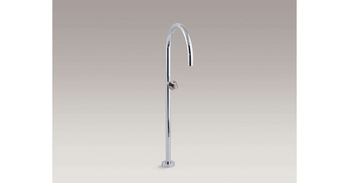 Floor Mount Non Laminar Bath Filler K 8362 Kohler