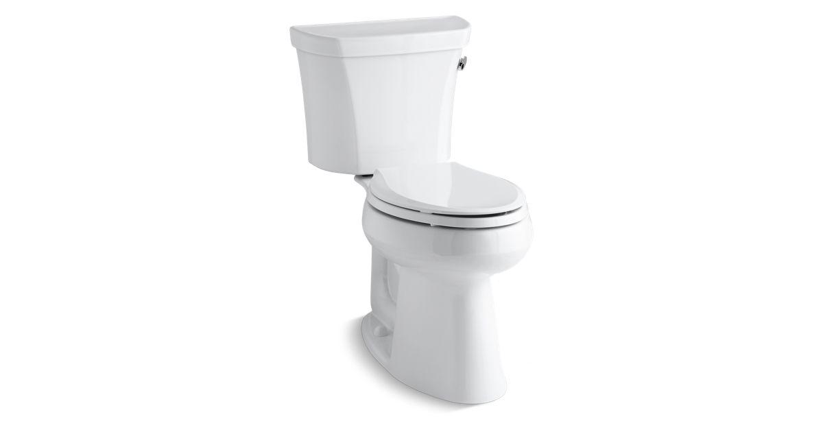 Kohler K 3889 Ur Highline Comfort Height 1 28 Gpf Toilet