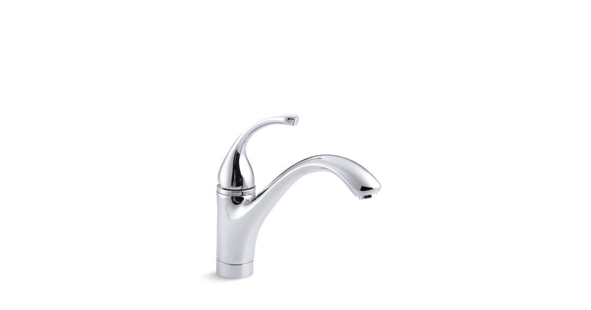 Fort Single Handle Kitchen Sink Faucet K 10415 Kohler