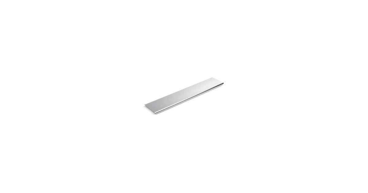 Groove aluminum drain cover inch shower base k