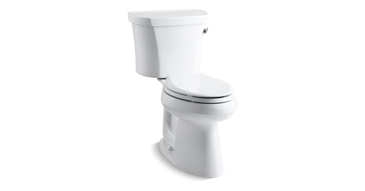 Kohler K 3949 Ur Highline Comfort Height 1 28 Gpf Toilet