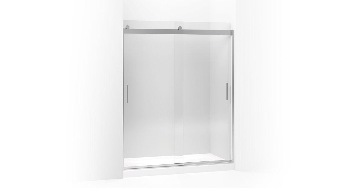 Levity Frameless Sliding Shower Door K 706009 L Kohler