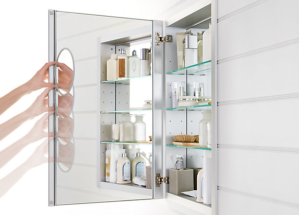 Size Choices and Finishing Touches. Verdera medicine cabinets ... - Verdera™ Medicine Cabinets Bathroom New Products Bathroom KOHLER