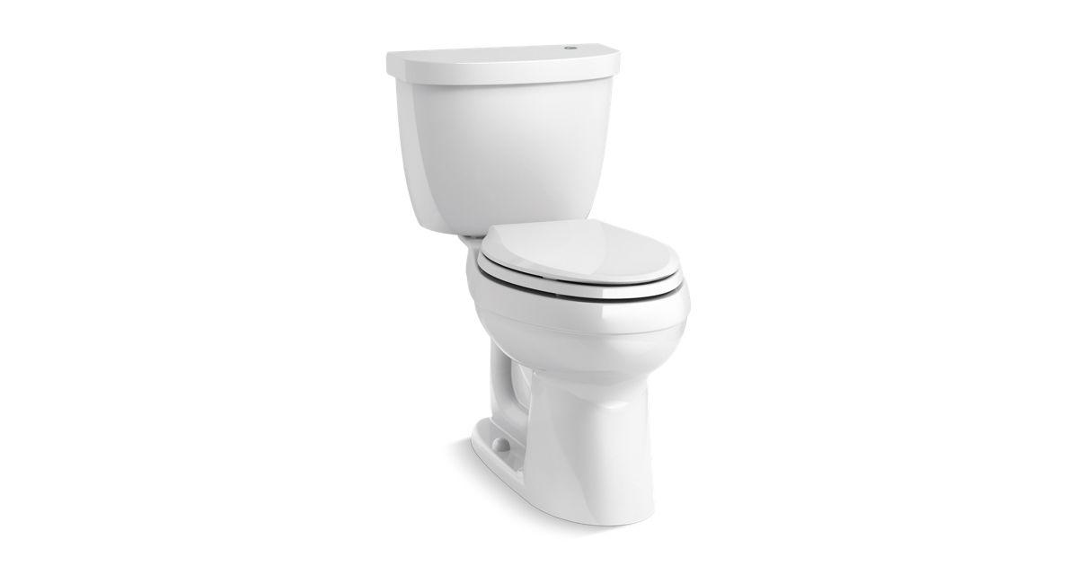 Cimarron Elongated Touchless Toilet 1 28 Gpf K 6418