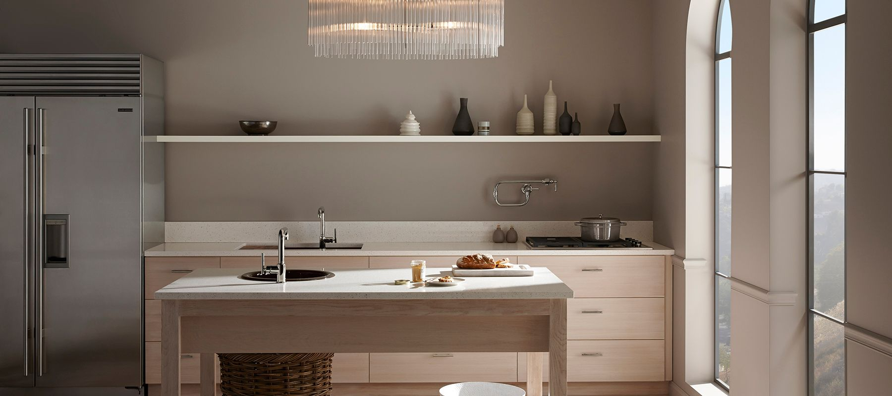 lovely Kholer Kitchen Sinks #9: Pale ...