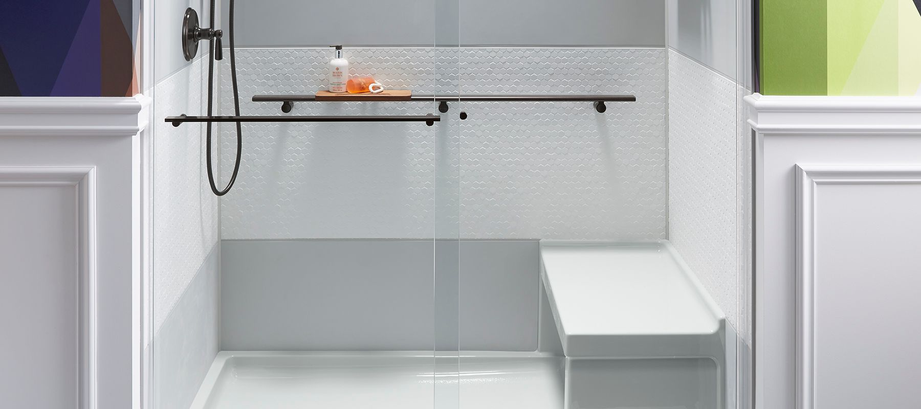 how to shop shower walls stalls