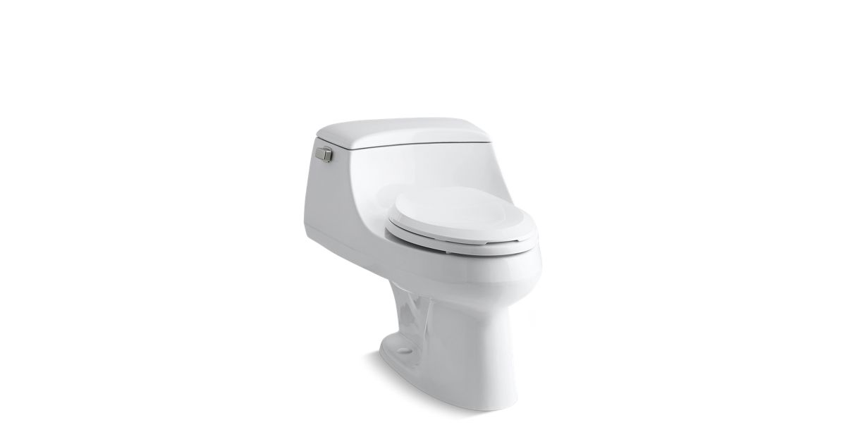 Kohler K 3466 San Raphael One Piece Elongated Toilet 1 6