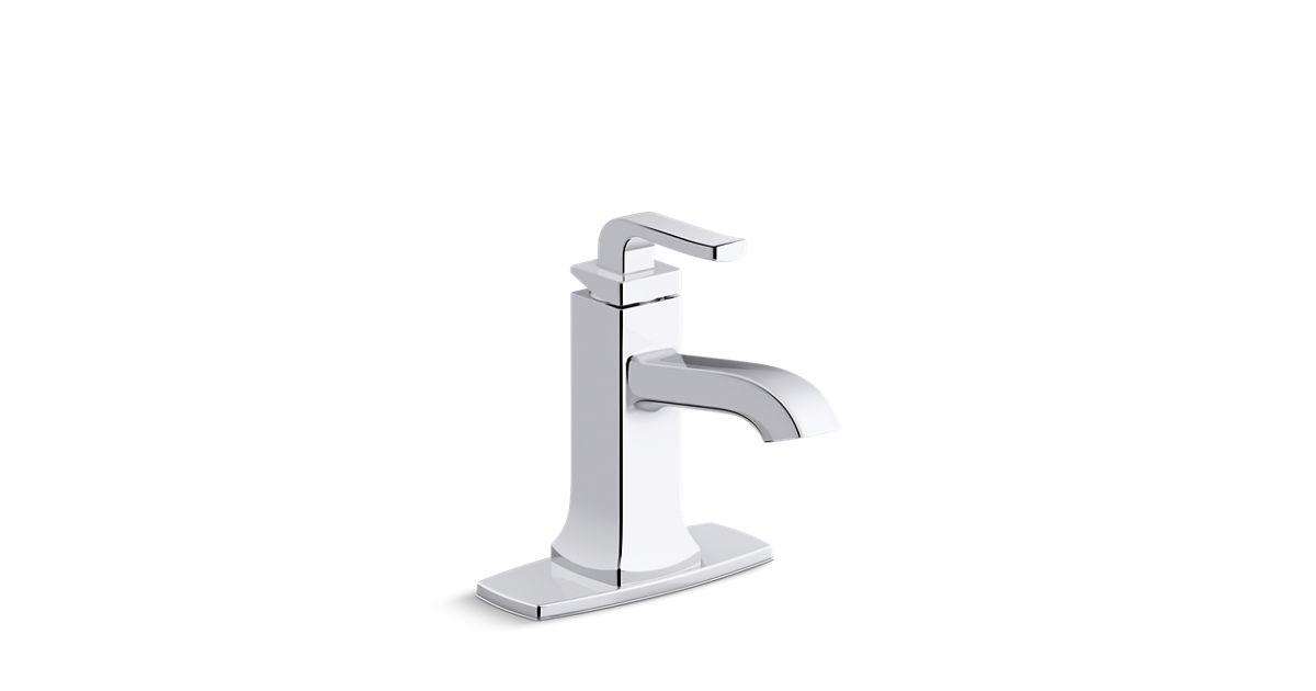 K R76214 4d Rubicon Single Handle Bathroom Faucet Kohler