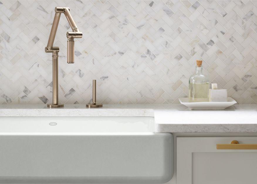 Apron Front Sinks An Easy Kitchen Update Kohler