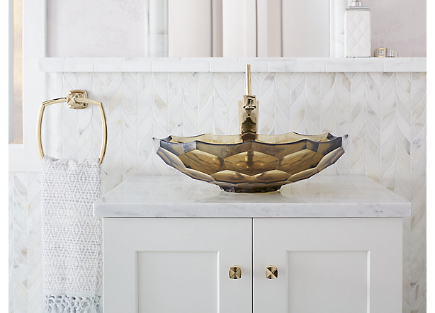 Bathroom accessories and hardware guide kohler for Coordinating bathroom accessories