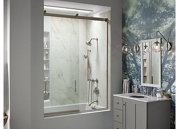 Shower door guide bathroom kohler for Bathroom design guide