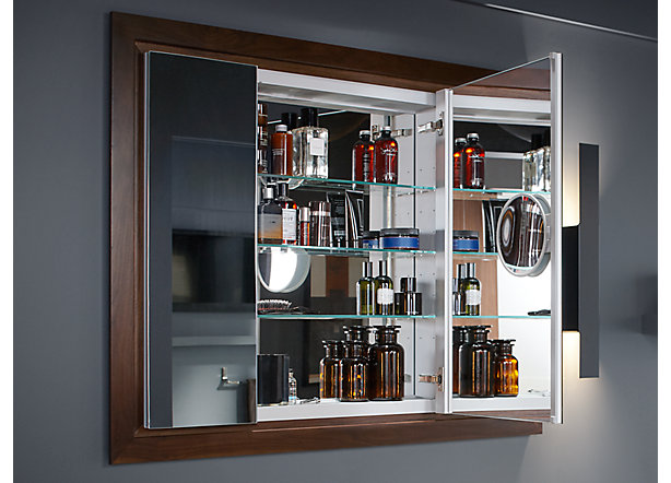 Cabinet & Shelving : Kohler Medicine Cabinet: The Touch Of