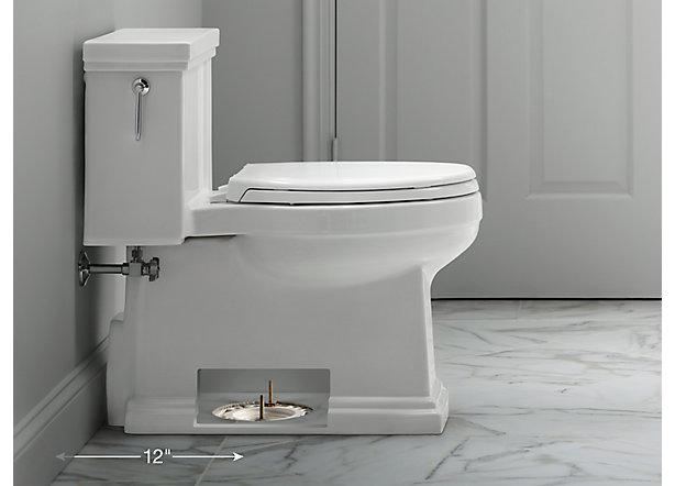 To Ensure Your New Floor Mount Toilet Fits Your Space Measure From The Wall Not The Baseboard To The Floor Bolts That Attach The Toilet To The Floor