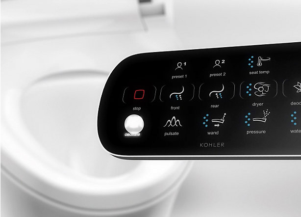 Intelligent Toilets And Cleansing Seats Bathroom Kohler