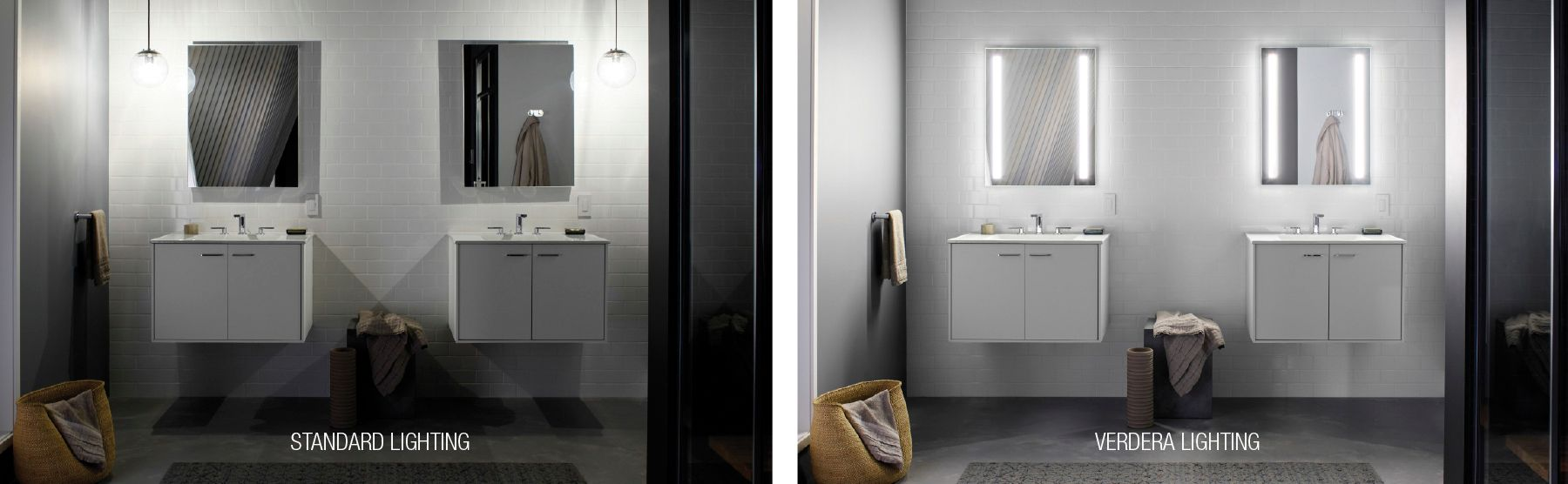 Medicine cabinet with side lighting - The Verdera Collection Now Offers Lighted Mirrors And Medicine Cabinets They Provide Even Optimally Bright Lighting Which Eliminates Harsh Shadows And