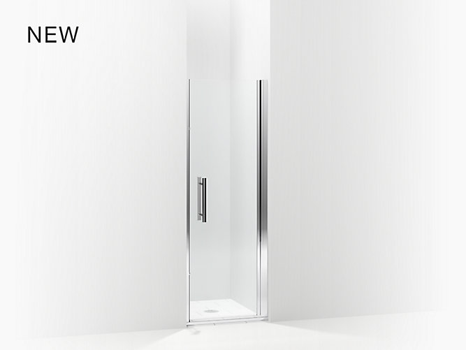 Finesse Peak 174 Swinging Shower Door Height 67 Quot Max