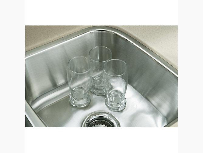 McAllister Under-Mount Small/Large Kitchen Sink, 31-3/4\