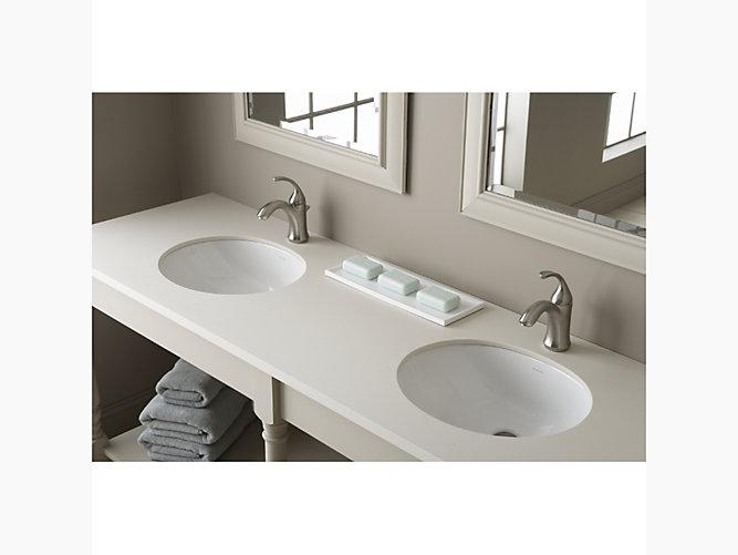 Wescott 174 17 Quot X 15 Quot Undermount Bathroom Sink 442050