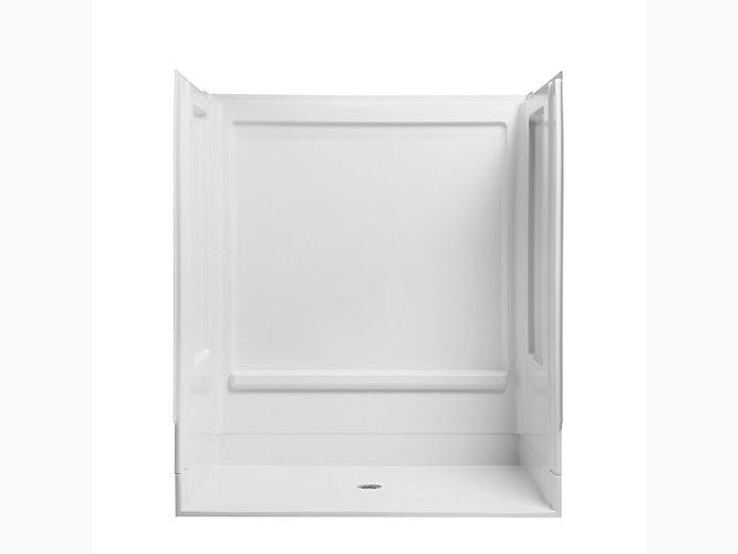 Ada series 6207 63 1 4 x 39 3 8 x 73 1 4 shower stall for Bathroom 94 percent